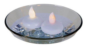 Floating LED T- Light CANDLE-GLOW light PRODUCT CODE ftl 001 g