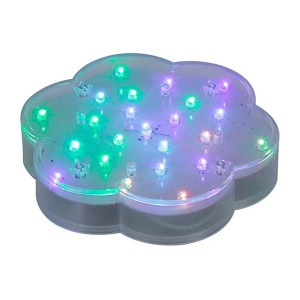 Flower shaped Uplighter Battery Operated | RAINBOW light PRODUCT CODE : fulcc 001