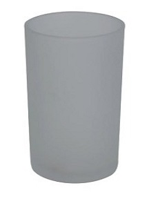 Frosted Glass Votive   PRODUCT CODE : tb 001