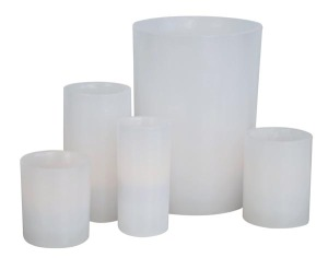 Hand-made Wax Luminary PRODUCT CODE : jf 015