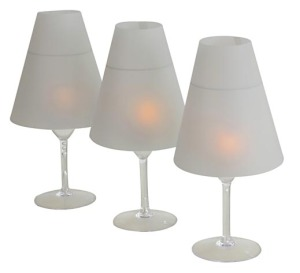 Frosted Wine-Lite Shades  PRODUCT CODE : wls 002