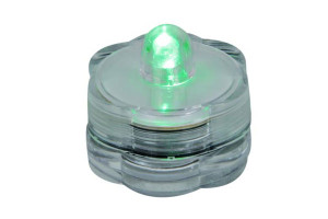 AQUA LITE - SUBMERSIBLE T-LIGHT - GREEN LIGHT