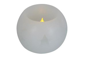 Wax LED Candle | BALL DESIGN CANDLEGLOW light PRODUCT CODE :wled str 001