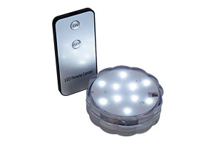R C Submersible LED Discs WHITE light PRODUCT CODE : rtl 001 cw